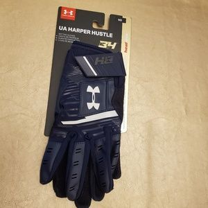 Men's Under Armour UA Harper Hustle Batting Gloves